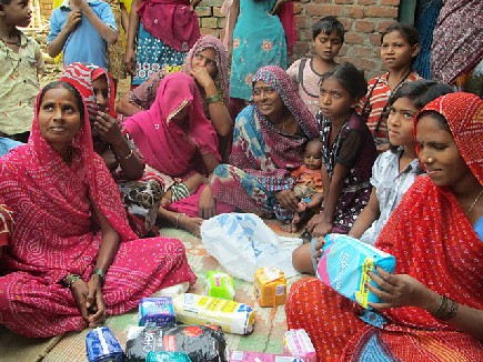 Market for sanitary pads in view