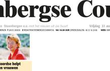 Steenbergse Courant: Prinses Maxima bij 1e lustrum Women on wings