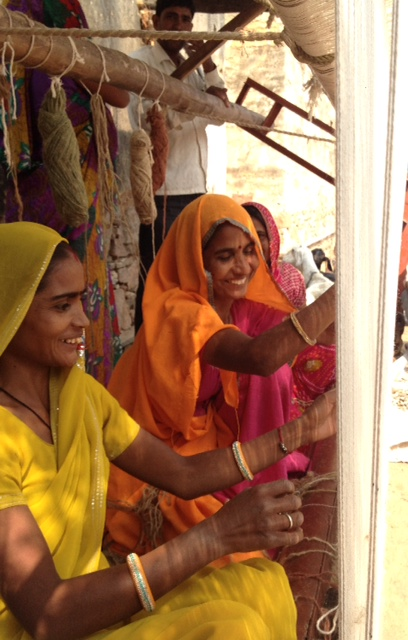 Women on Wings launches carpet weaver motivation program