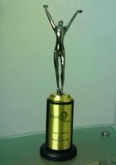 En zo ziet de Sankalp Award er uit…….