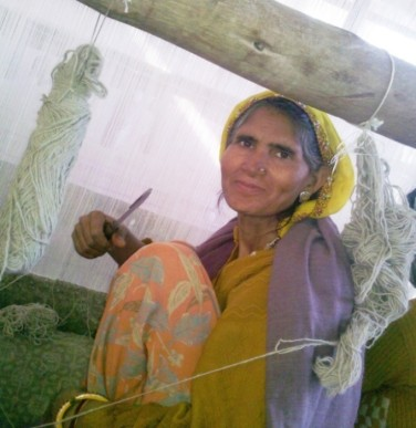 Meera Devi, artisan Jaipur Rugs