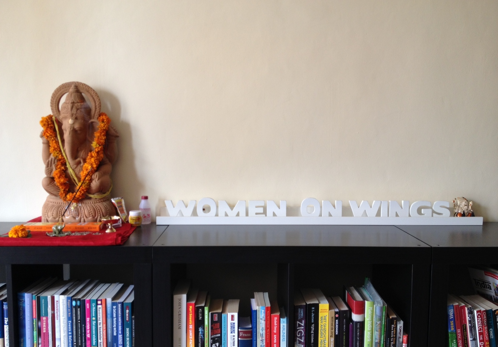 Puja for Women on Wings office in India