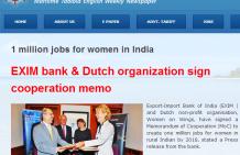 Newspaper Sagar Sandesh: 1 million jobs for women in india