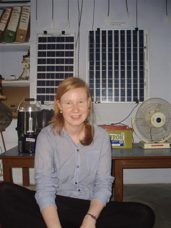 Solar cell technology interesting for working women in rural India