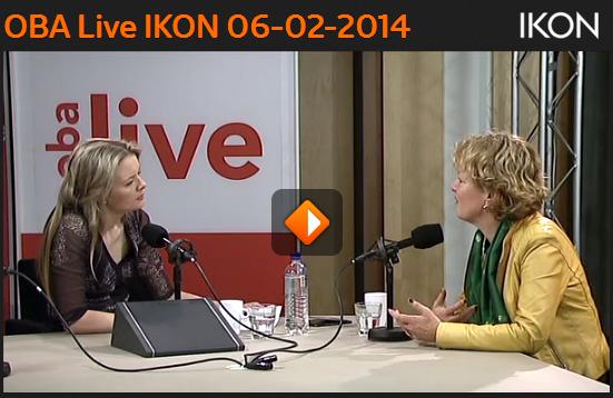 Radio interview OBA live met Maria van der Heijden