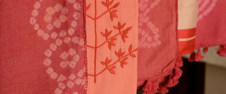 In 1 week experts in Ranchi create new products from beautiful handloom fabric and test in new customer category