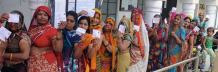 Elections outcome for Indian women in rural areas?