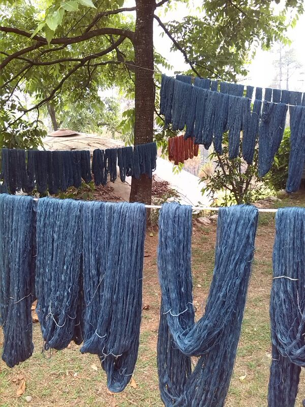 Avani's natural dyes from the Himalayas