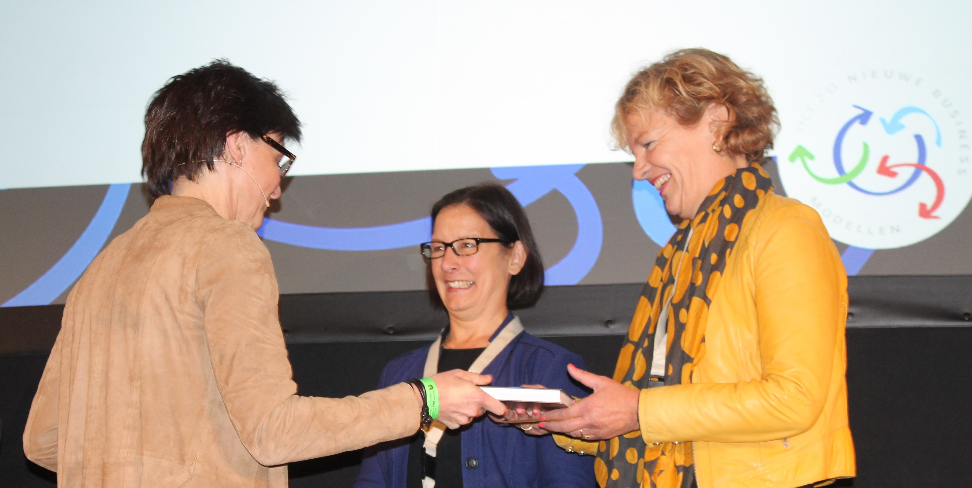 Women on Wings at book launch 'New Business Models'