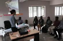 Working on management development program at Jharcraft