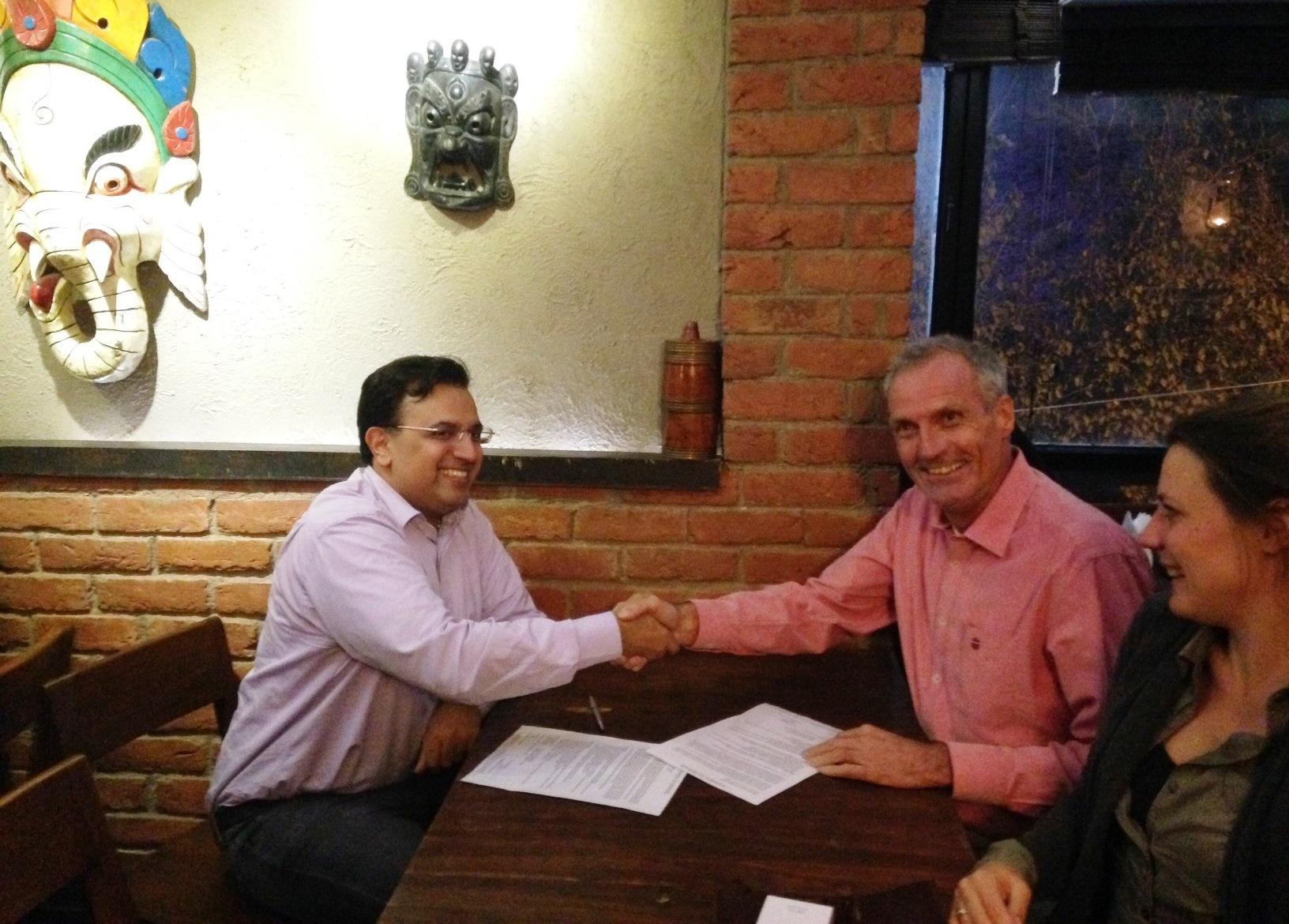 New partnership in sanitary pads program