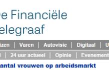 Women on Wings article 182,000 jobs published in De Financiële Telegraaf