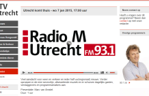 Women on Wings co-founder Ellen Tacoma in Radio M Utrecht show