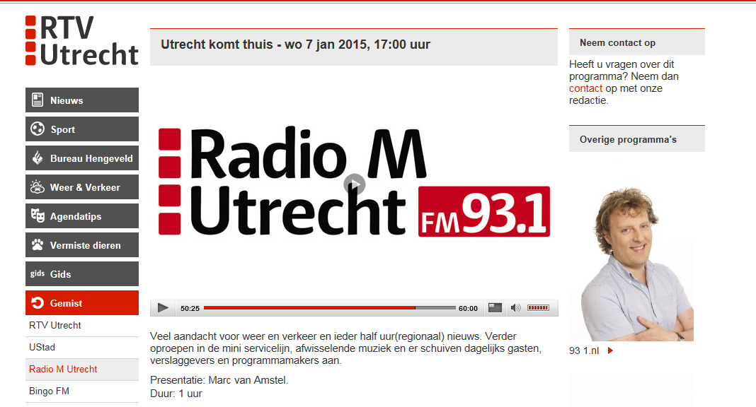 Women on Wings in radio interview Radio M Utrecht, The Netherlands