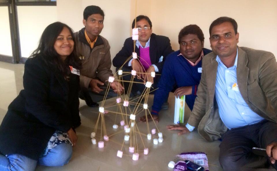 Inspiring and fun management development workshops at Jharcraft