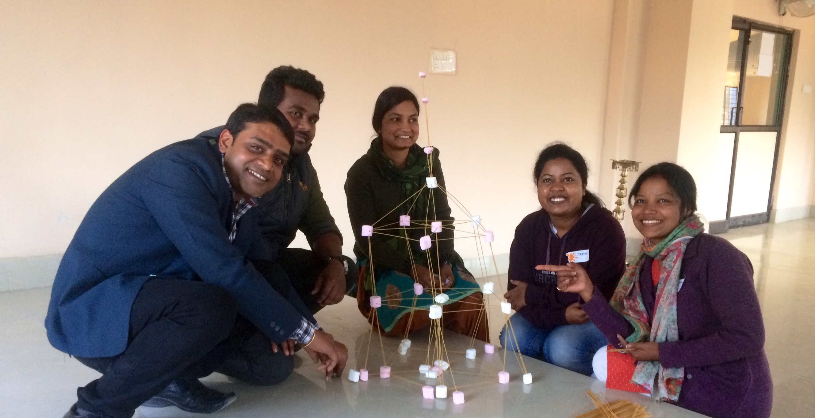 Management development program leads to new way of working at Jharcraft