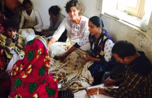 Work for Sanya, crafts woman from Bhuj