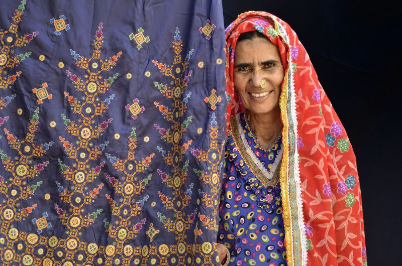 Shrujan provides work to 3,900 crafts women in Bhuj
