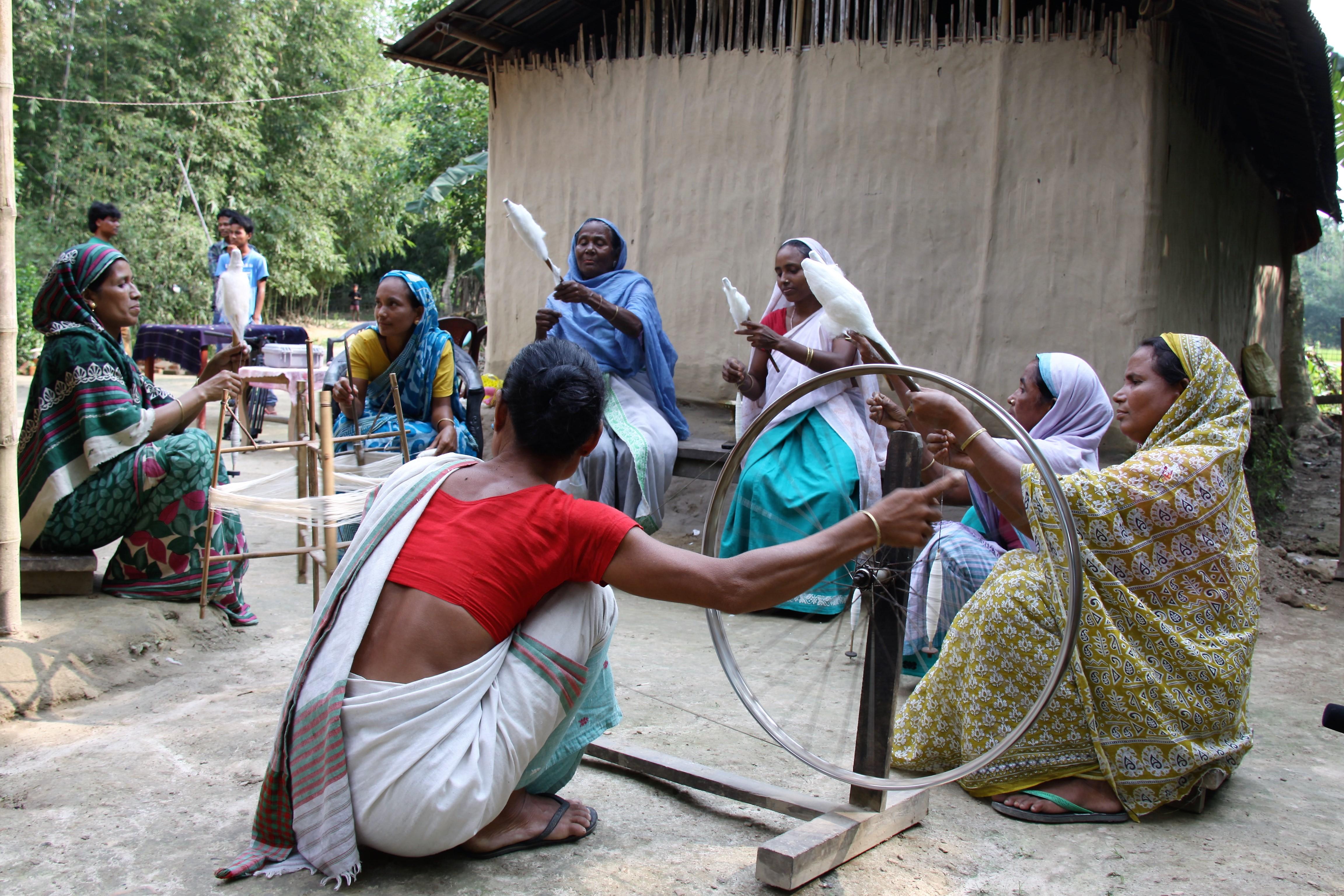 Developing Fabric Plus team in Assam