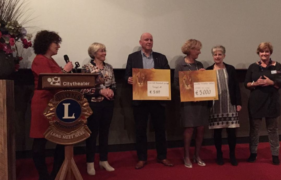 Lions club Roosendaal Westhoek shows how a Dutch movie can change rural lives in India
