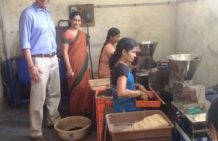 From working in swanky corporate offices to getting up close with rural India