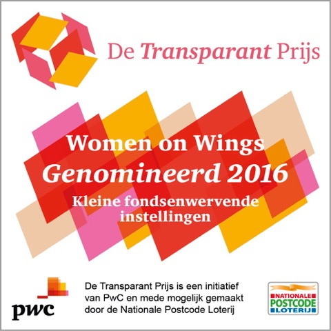 Women on Wings nominated for PwC's Transparency Award 2016
