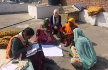Enthusiasm and eagerness to learn with an aim to create jobs for women in rural India