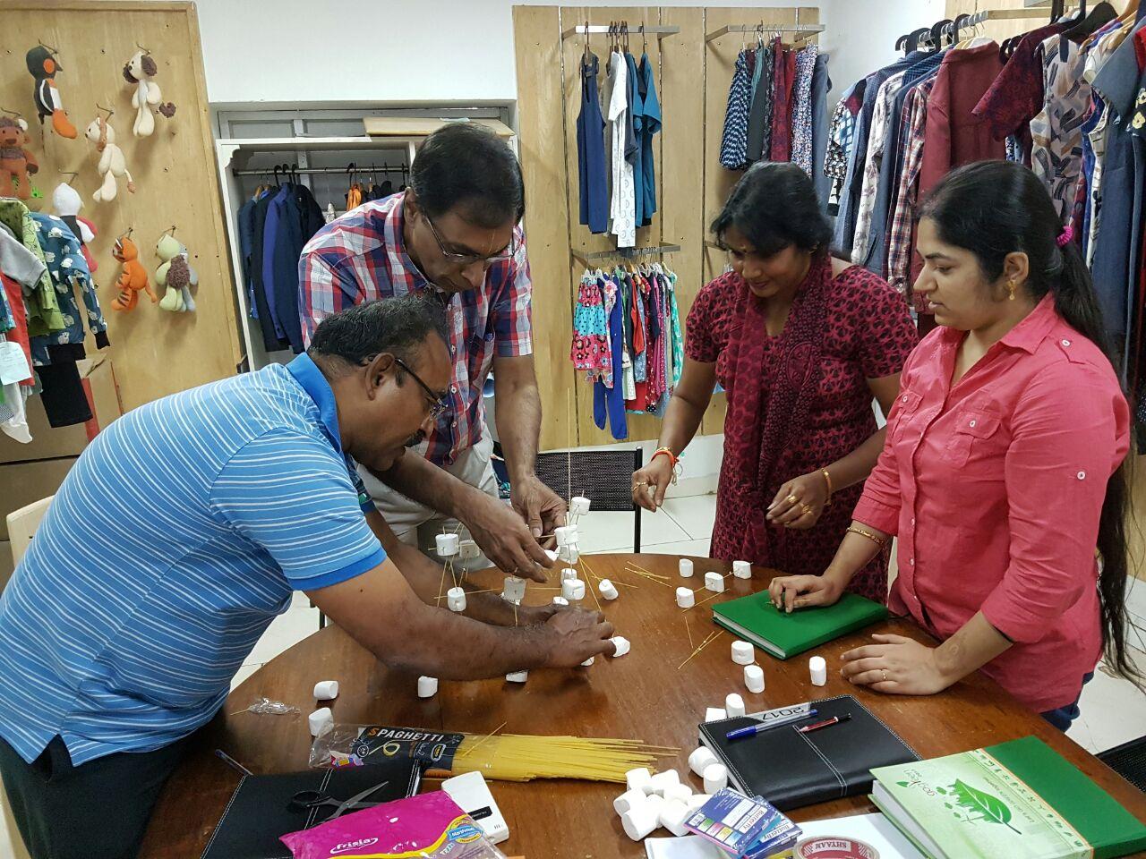 An inspiring teambuilding workshop at Mandala