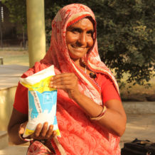 Kajodi Devi's milk profits make her economically independent