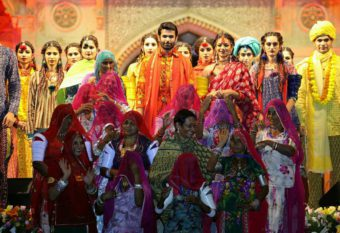 A tribute to rural Barmer fashion show