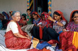 Building the future for Shrujan – stitch by stitch