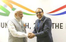 Women on Wings Director Vikas Chaturvedi meets Prime Minister Narendra Modi