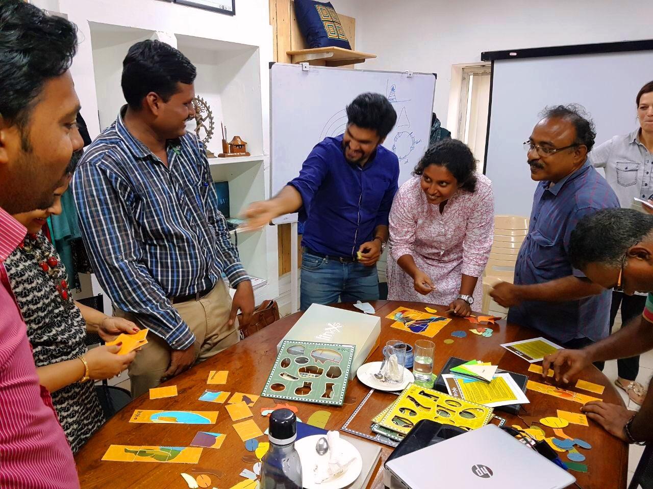Next step in team building at Mandala