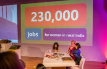 THE IMPACT of A DREAM: 230,000 jobs for rural women