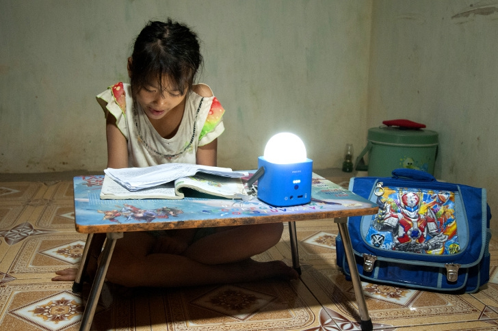 New partnership with Philips Lighting brings light to villages