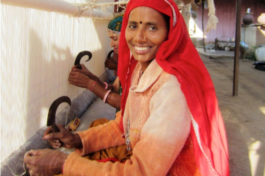 Weaving brings joy and income to Archana Devi