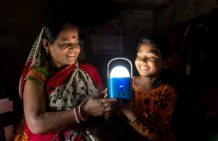 Bringing light to villages with Philips Lighting