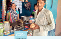 Bhagwati shares knowledge with other rural women