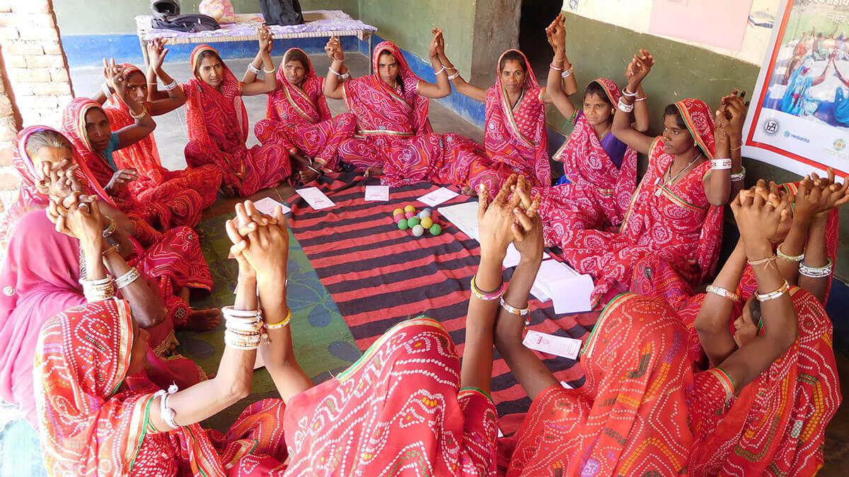 Red sari; token of solidarity, individuality & pride