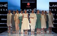 Sadhna at Lakmé Fashion Week 2020