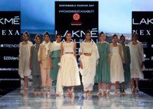 Sadhna at Lakmé Fashion Week 2020