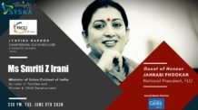 FICCI FLO talks to Smriti Z Irani about Women on Wings