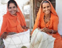 Handcrafting at home through hard times